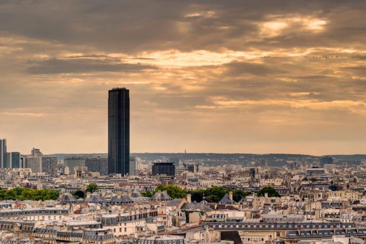 Башня Монпарнас - достопримечательности Парижа