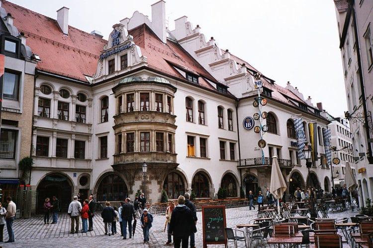 Пивной ресторан Хофбройхаус - достопримечательности Мюнхена
