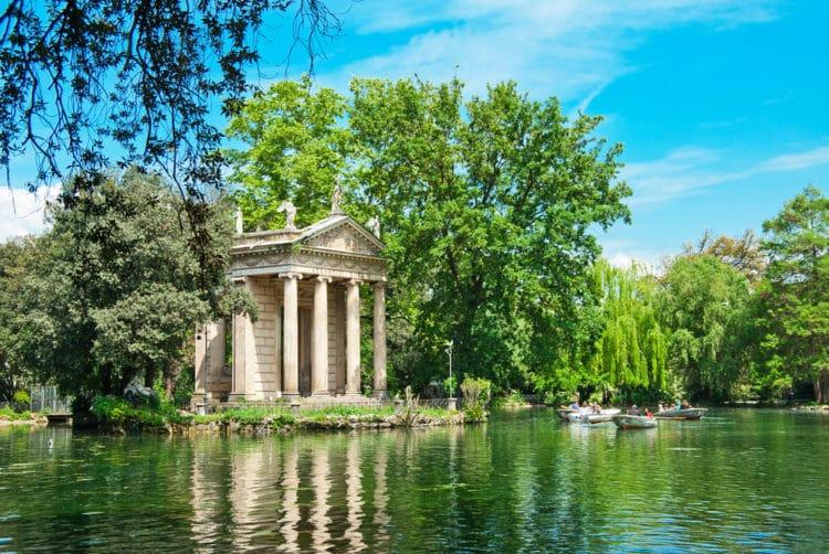 Вилла Боргезе - достопримечательности Рима