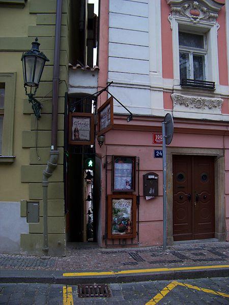 Винарна Чертовка - достопримечательности Праги