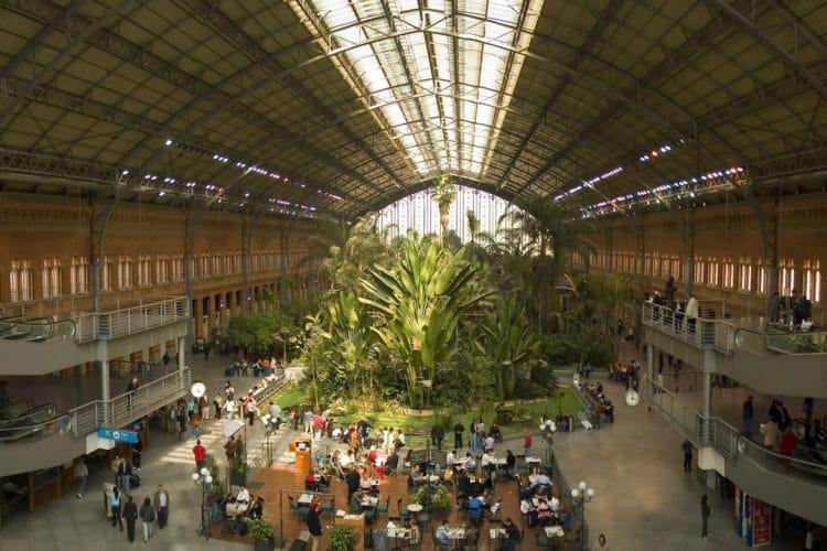 Ж/д вокзал Аточа - достопримечательности Мадрида