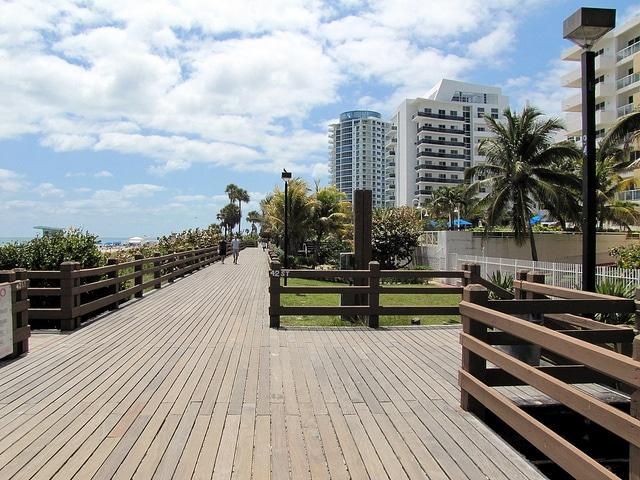 Дорожка Miami Beach Boardwalk - Что посмотреть в Майами