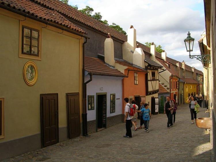 Золотая улочка - достопримечательности Праги