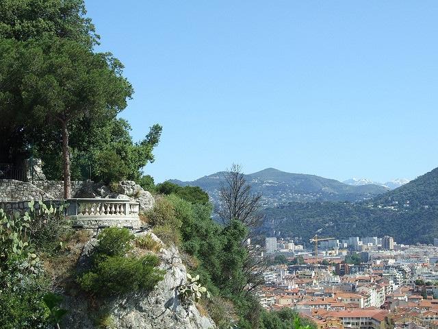 Замковая гора - достопримечательности Ниццы