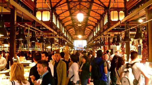 Рынок Сан-Мигель - достопримечательности Мадрида
