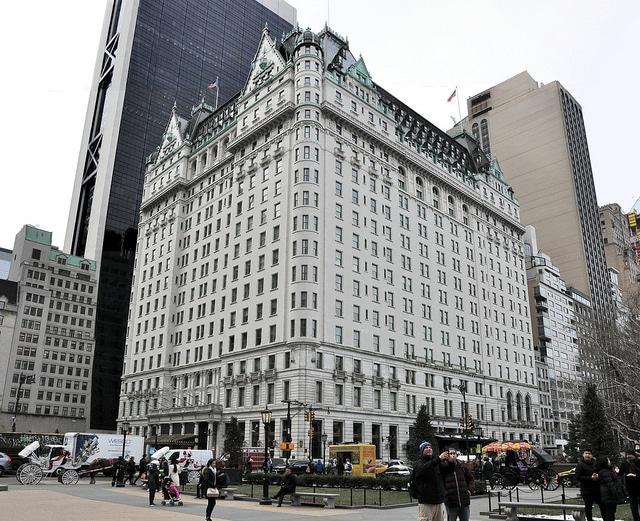 Отель Плаза - достопримечательности Нью-Йорка
