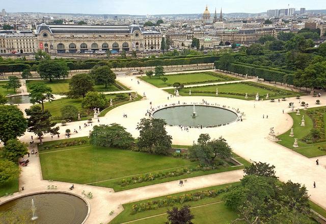 Сад Тюильри - достопримечательности Парижа