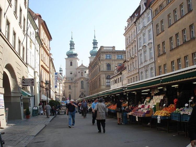 Гавельский рынок - достопримечательности Праги