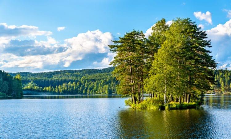 Озеро Согнсванн - достопримечательности Осло
