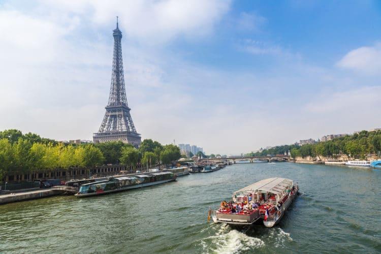Река Сена - Что посмотреть в Париже