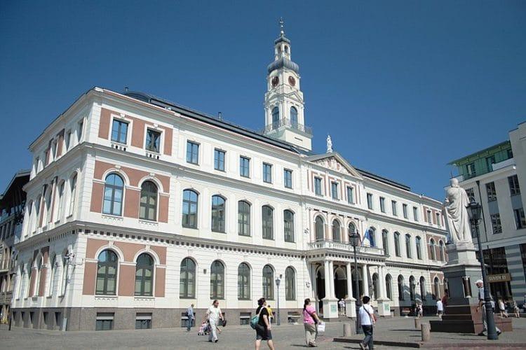 Городская ратуша - достопримечательности Риги