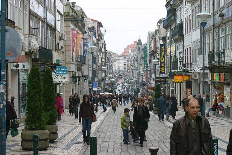 Улица Санта Катарина - достопримечательности Порту