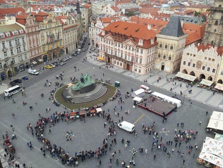 Староместская площадь - достопримечательности Праги