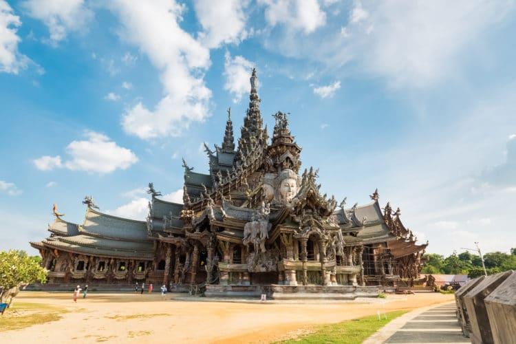Храм Истины - достопримечательности Паттайи