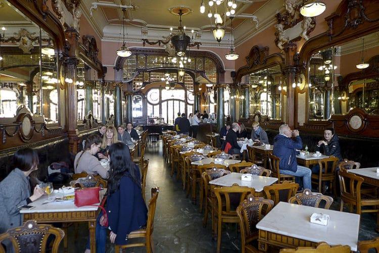 Кафе Маджестик - достопримечательности Порту