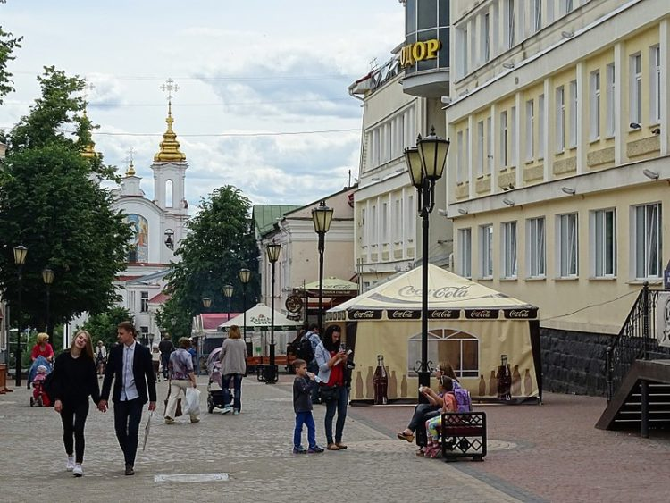 Улица Суворова - достопримечательности Витебска