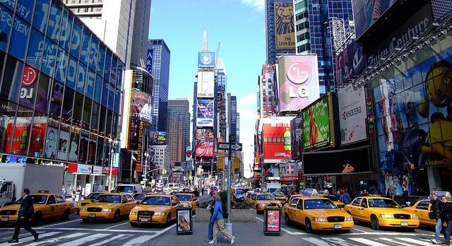 Таймс Сквер - достопримечательности Нью-Йорка