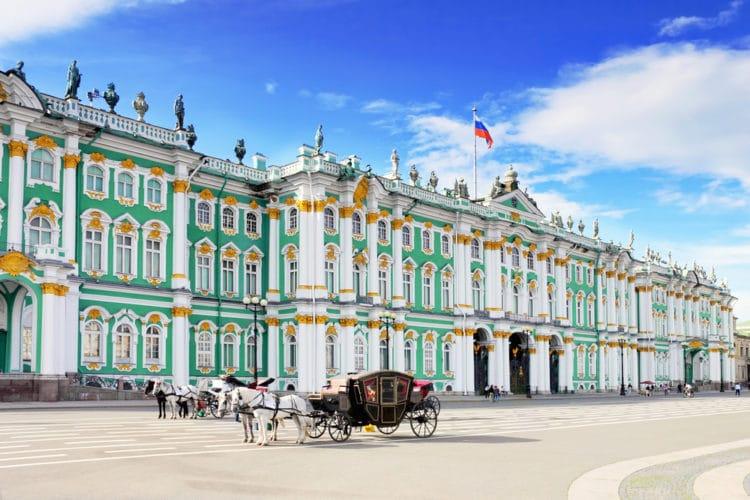 Самые красивые города Европы - Санкт-Петербург. Россия