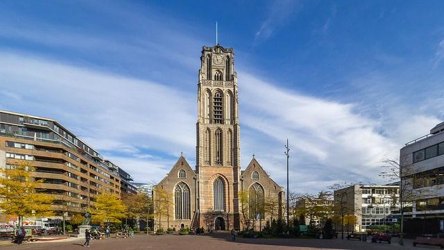 Церковь Святого Лаврентия - достопримечательности Роттердама