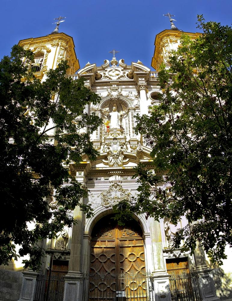 Базилика Святого Иоанна Божиего - достопримечательности Гранады
