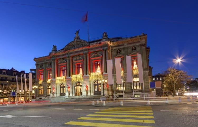 Большой театр Женевы - достопримечательности Женевы