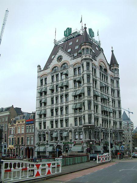 Белый дом в Роттердаме - достопримечательности Роттердама
