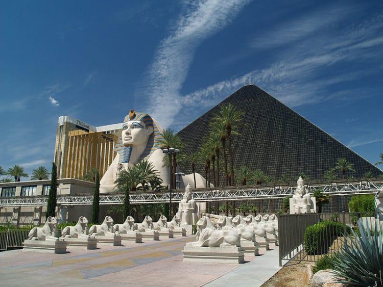 «Луксор Лас-Вегас» - достопримечательности Лас-Вегаса