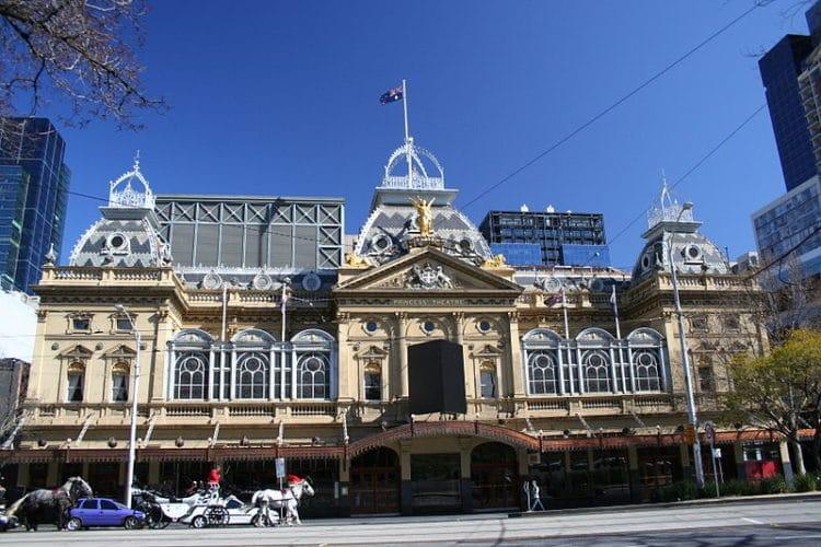 Оперный театр - достопримечательности Мельбурна