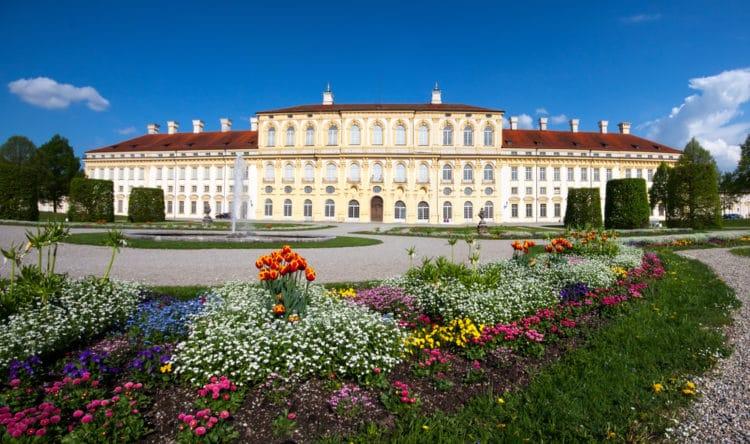 Дворец Шлайсхайм - достопримечательности Мюнхена