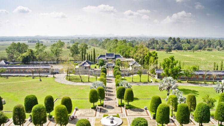 Парк Трёх Королевств - достопримечательности Паттайи