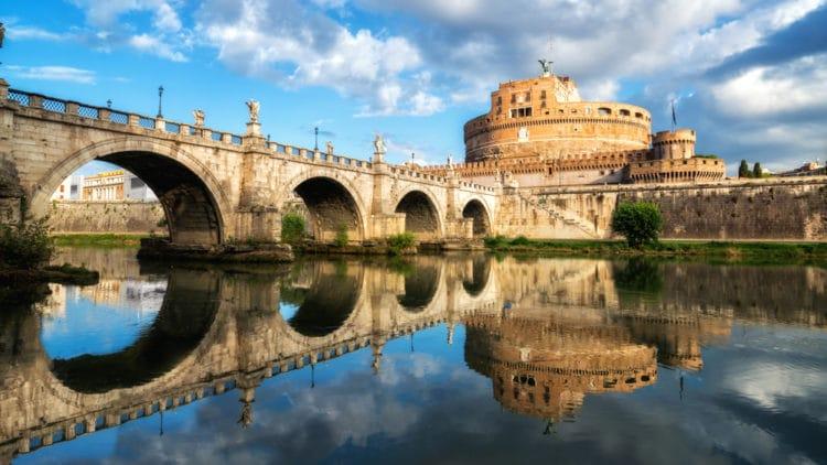 Замок Святого Ангела - достопримечательности Рима