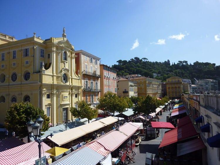 Рынок Кур Салея - достопримечательности Ниццы