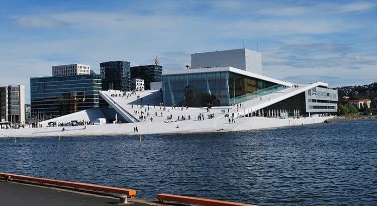 Оперный театр Осло - достопримечательности Осло