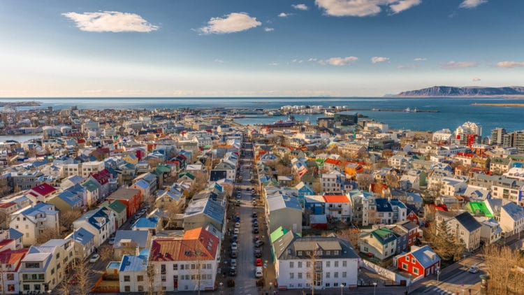 Самые красивые города Европы - Рейкьявик. Исландия