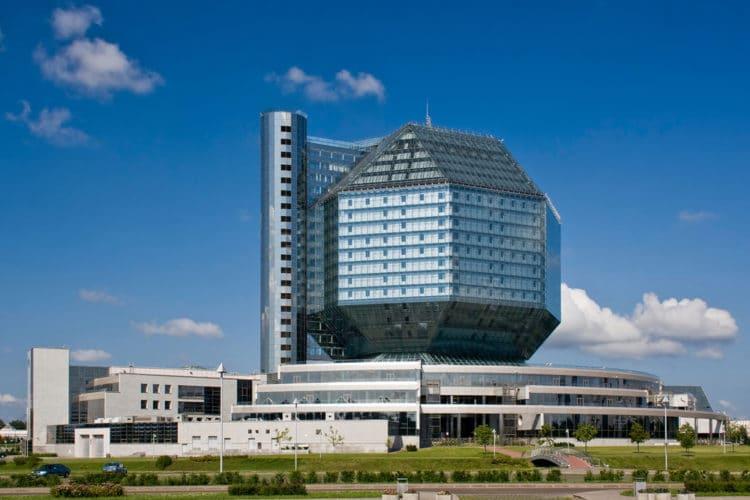 Национальная библиотека Беларуси - достопримечательности Минска