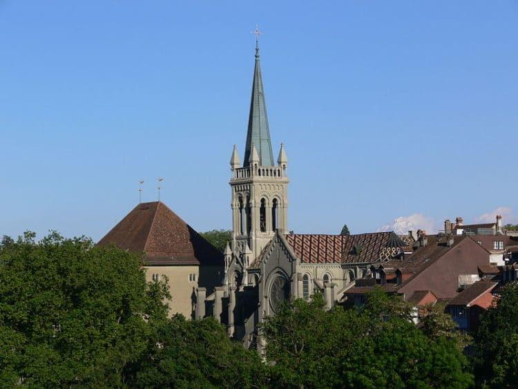 Церковь Святого Петра и Павла - достопримечательности Берна