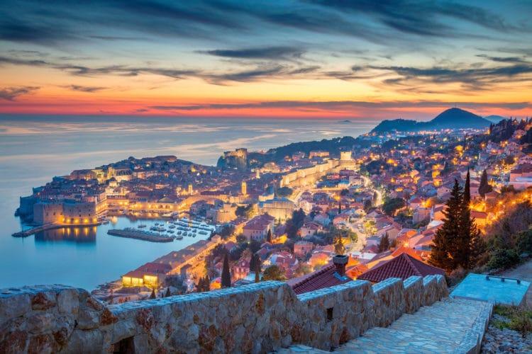Самые красивые города Европы - Дубровник. Хорватия