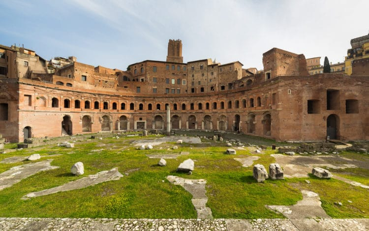Форум Траяна - достопримечательности Рима