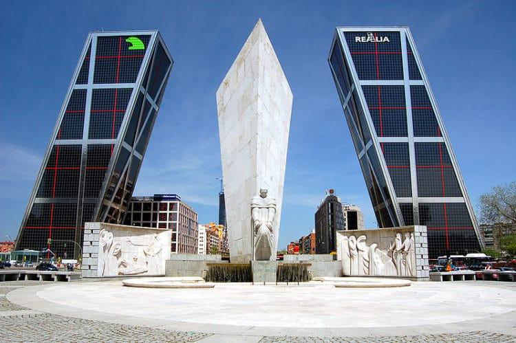 «Ворота Европы» - достопримечательности Мадрида
