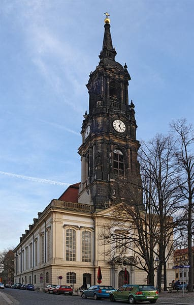 Драйкёнигскирхе — Церковь Трех волхвов - достопримечательности Дрездена