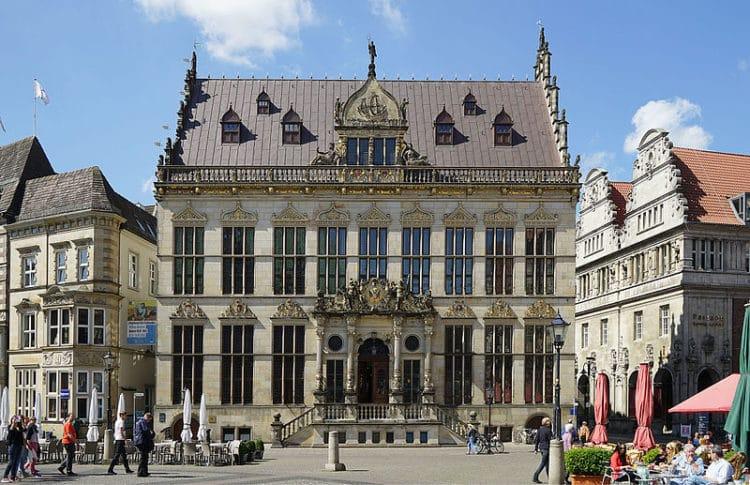Торговая палата Шюттинг - достопримечательности Бремена
