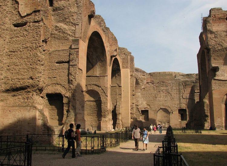 Термы Каракаллы - достопримечательности Рима