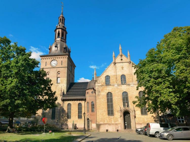 Кафедральный собор Осло - достопримечательности Осло