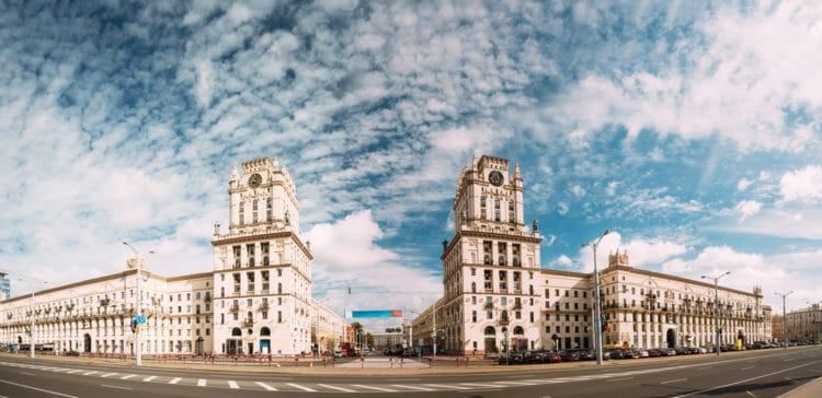 «Ворота Минска» - достопримечательности Минска
