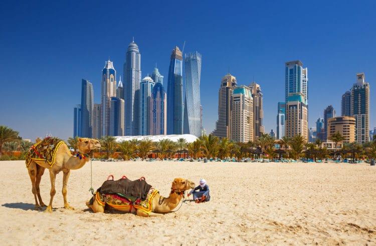 В какой стране находится Дубай  Достопримечательности
