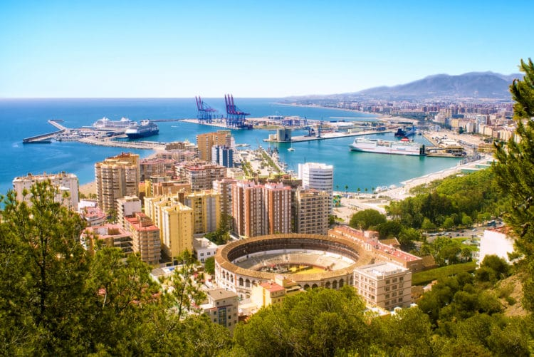Город Малага Испания - достопримечательности города фото что посмотреть
