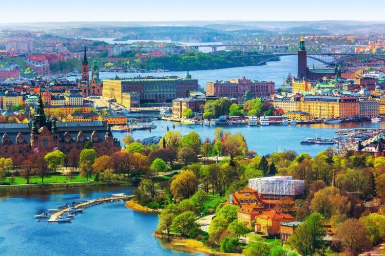 Фото Швеции  интересные места и достопримечательности