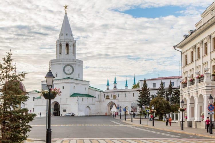 Казанский Кремль - достопримечательности Казани