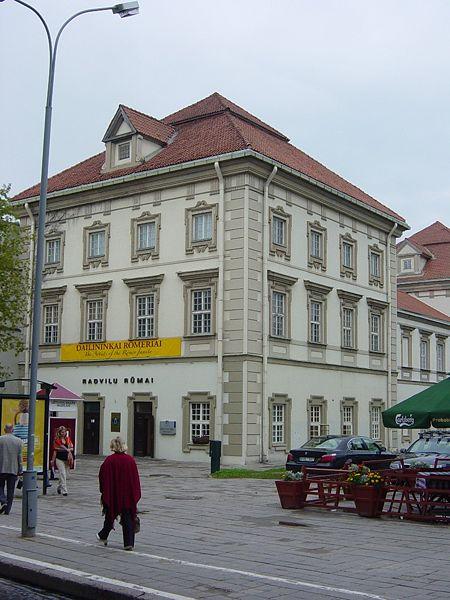 Дворец Радзивиллов - достопримечательности Вильнюса