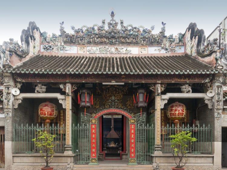 Храм Тьен Хау - достопримечательности Хошимина